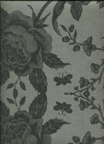 Paper & Ink Black & White Wallpaper BW21600 By Wallquest Ecochic For Today Interiors